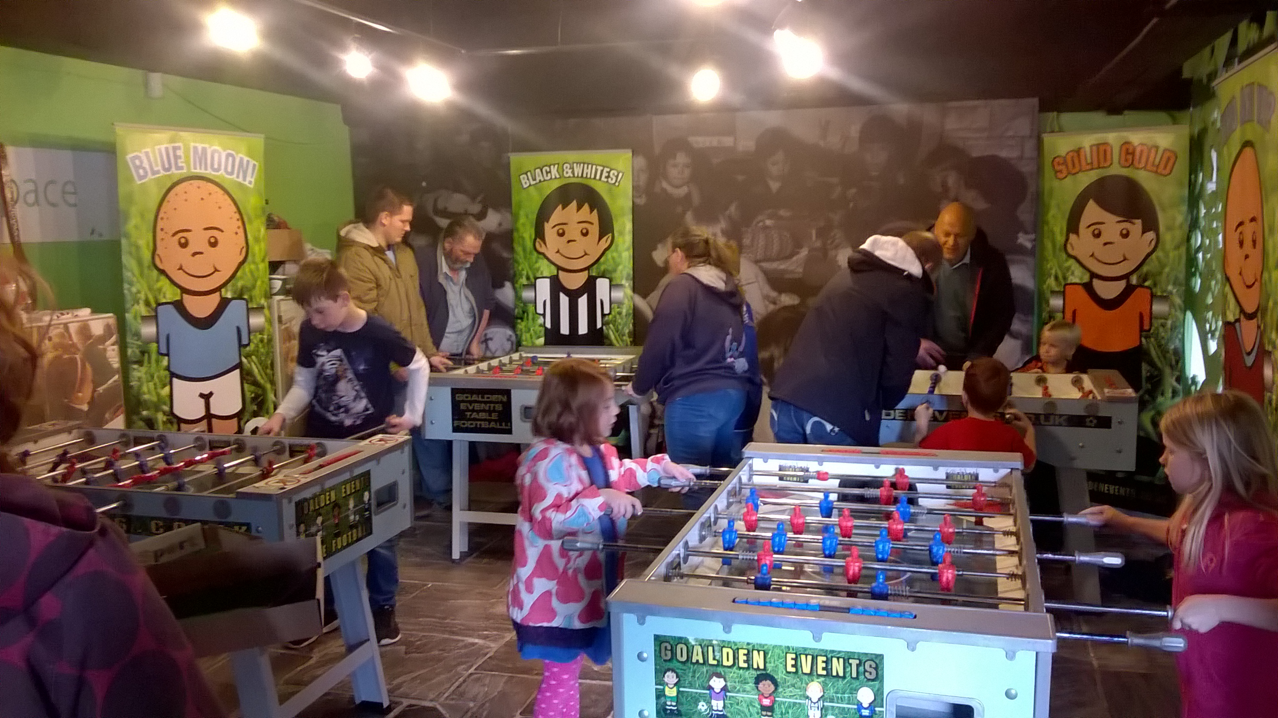 Indoor Table Football